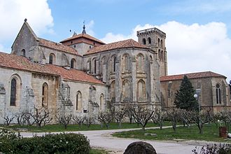 Burgos - Abbey of Santa María la Real de Las Huelgas, founded in 1180.