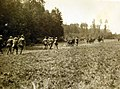 Burial party of 42nd Division after advance beyond Chateau-Thierry, Beuvardes, France, 1918 (31341701516).jpg