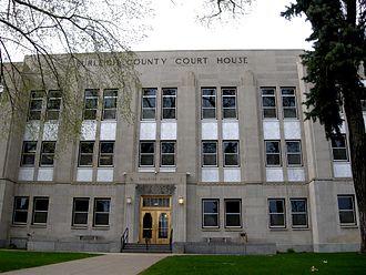 Burleigh County Courthouse - Image: Burleigh Co Courthouse ND