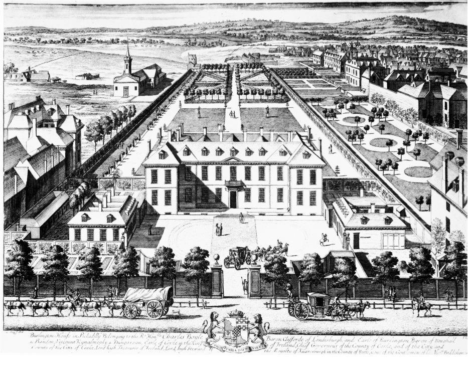 Burlington House 1698-99