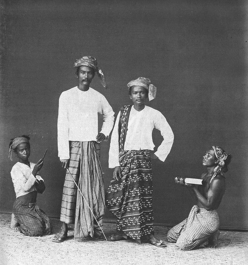 Burmese nobles
