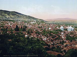 Bursa nel 1890.