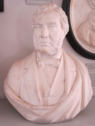 Joseph Mayer (antiquary) - Bust of Joseph Mayer, by Giovanni Fontana.