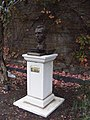 Bust of Vincent Van Gogh by Anthony D Padgett..on Van Gogh Walk, Brixton, London.jpg