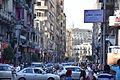 Busy Talaat Harb street in Cairo near Tahrir Square.JPG