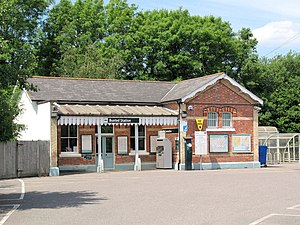 Buxted railway station - Image: Buxted Station