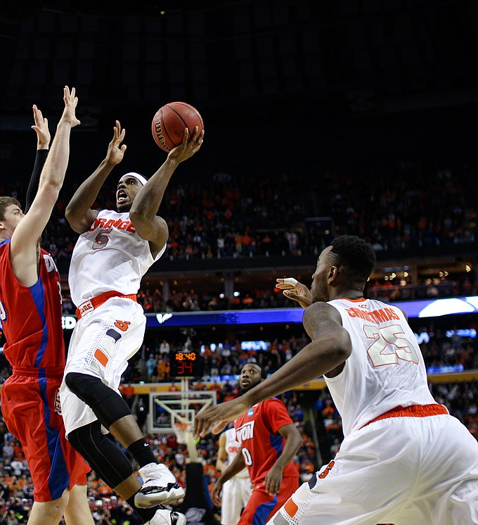 C.J. Fair and Rakeem Christmas, 2014 NCAA Trounament C.J. Fair layup.jpg