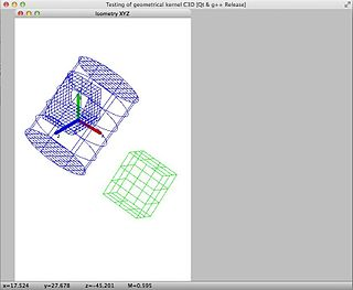 C3D Toolkit software for geometric modeling