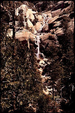 Big Creek (San Joaquin River tributary) - Big Creek, 1972