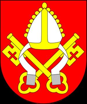 John Hughes (archbishop of New York) - The episcopal coat of arms of Archbishop John J. Hughes
