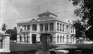 Deli Company - Image: COLLECTIE TROPENMUSEUM Het hoofdkantoor van de Deli Maatschappij T Mnr 60006949