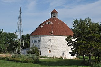 National Register of Historic Places listings in Codington County, South Dakota - Image: CORSON EMMINGER ROUND BARN, CODINGTON COUNTY, SD