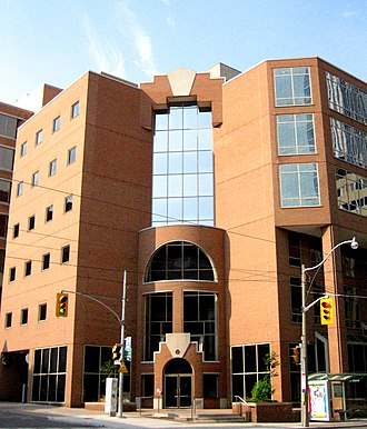 College of Physicians and Surgeons of Ontario - The College of Physicians and Surgeons of Ontario building in Toronto.