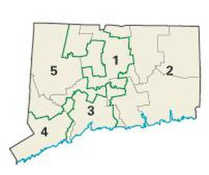 Connecticut's 6th congressional district - Connecticut's congressional districts, 2003-2013