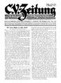 CVZ Titelblatt 1. Jg., Heft 1, S. 1 - 04.05.1922.tif