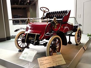 The first Cadillac automobiles