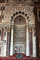 Cairo, moschea di al-muayyad, interno, mihrab 02.JPG