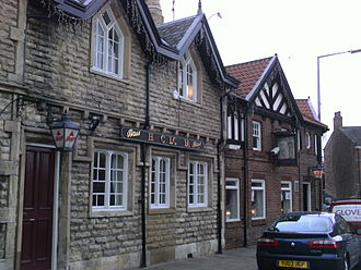 Tadcaster - The Calcaria public house, the namesake of Calcaria