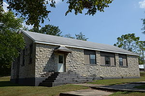 National Register of Historic Places listings in Izard County, Arkansas - Image: Calico Rock Home Economics Building