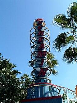 Disney Roller Coaster >> Incredicoaster - Wikipedia