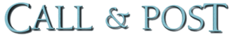 Call and Post - Image: Call & Post (newspaper) logo