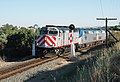 Caltrain 901 leading the Coast Starlight, June 2004.jpg