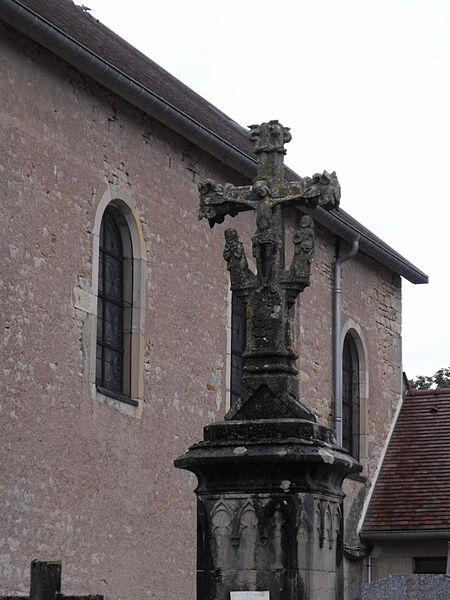 Calvaire du cimetière de Chaucenne, Doubs, France