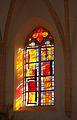Calvary church Saint George, Micheldorf in Oberösterreich, glass window1.jpg