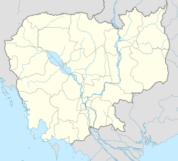 តាខ្មៅ is located in Cambodia