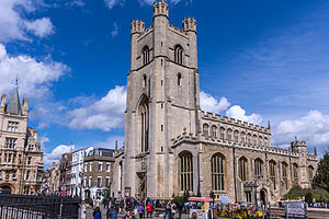 Church of St Mary the Great, Cambridge - Image: Cambridge Church of St Mary the Great