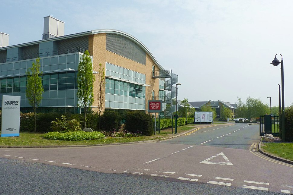 Cambridge Science Park rear entrance