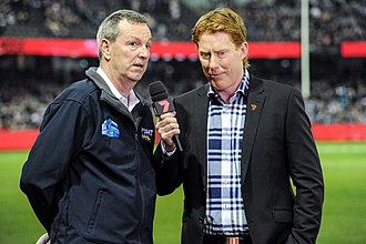 Cameron Ling - Ling interviewing Neale Daniher in June 2017