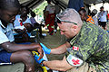 Canadian medical camp near Logne, Haiti 2010-01-25.jpg