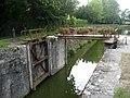Canal d'Orléans , écluse de Vitry-aux-Loges. Vitry-aux-Loges , département du Loiret, France. - panoramio.jpg