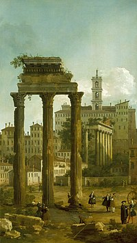 Canaletto (Venice 1697-Venice 1768) - Ruins of the Forum looking towards the Capitol - RCIN 400714 - Royal Collection.jpg