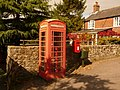 Cann, postbox No. SP7 3 and phone, Bozley Hill - geograph.org.uk - 1508558.jpg