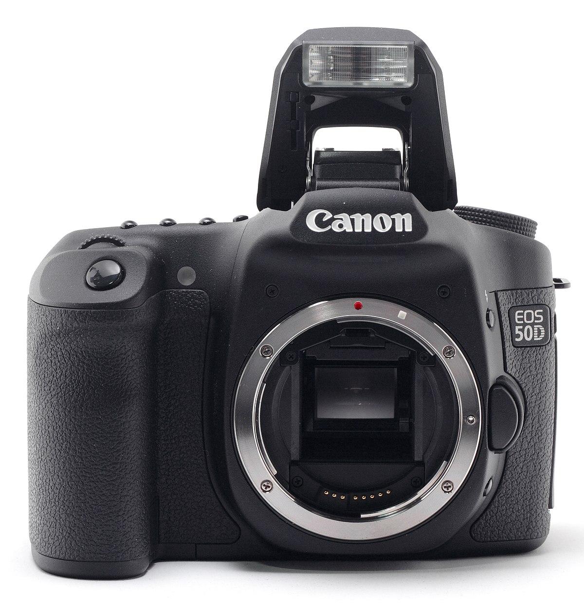 Canon EOS 50D - Wikipedia, la enciclopedia libre
