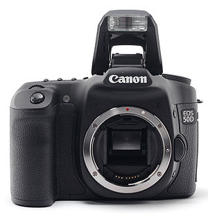 Photo of the Canon EOS 50D Digital, showing mo...