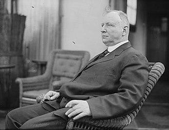 Cap Anson - Anson in 1907
