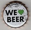 Cap of Brauerei Zwönitz - Zwönitzer Feieromd Bier, Rotblondes.jpg