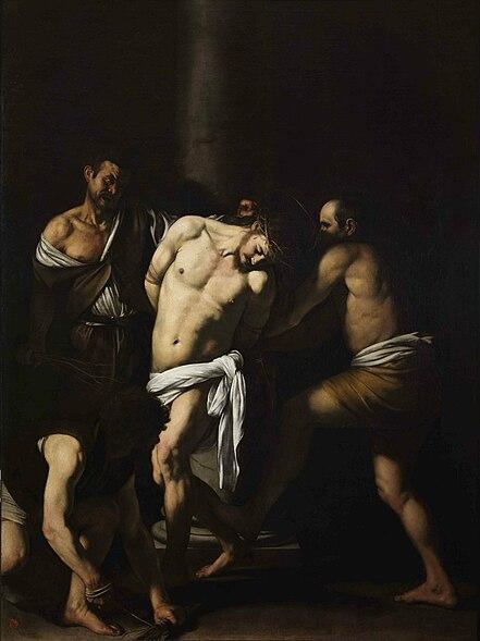 Ficheiro:Caravaggio - La Flagellazione di Cristo.jpg