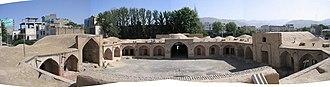 Caravanserai - Shah-Abbasi Caravansary in Karaj, Iran