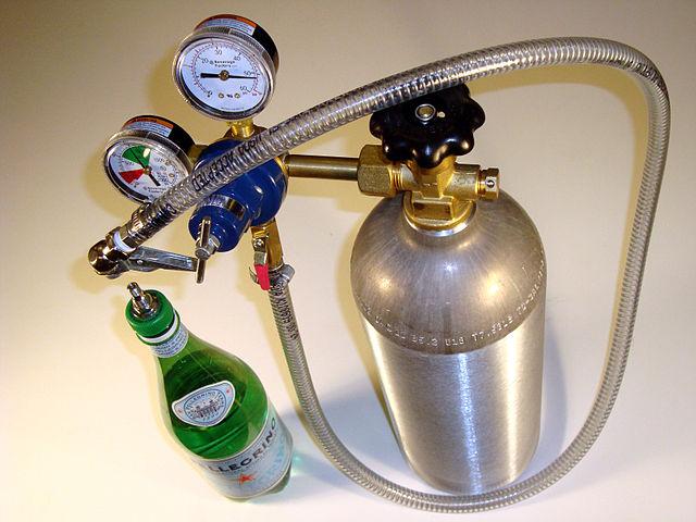 Gasflasche mit Ventil