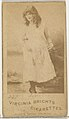 Card 297, Lotta, from the Actors and Actresses series (N45, Type 1) for Virginia Brights Cigarettes MET DP829665.jpg