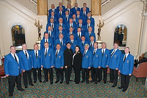 Culture of Wales - The Cardiff Arms Park male voice choir