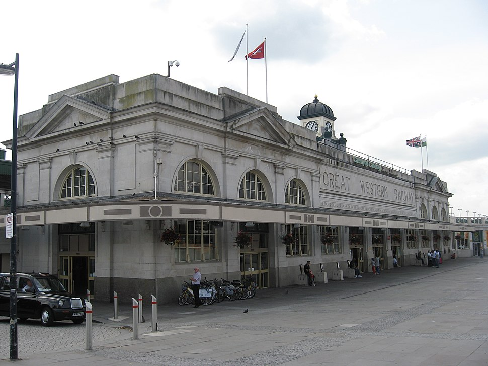 Cardiff Central railway station, Cardiff, Wales