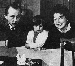 Carlo Alberto Chiesa - Carlo Alberto Chiesa, his wife Isa Barzizza and their daughter Carlotta