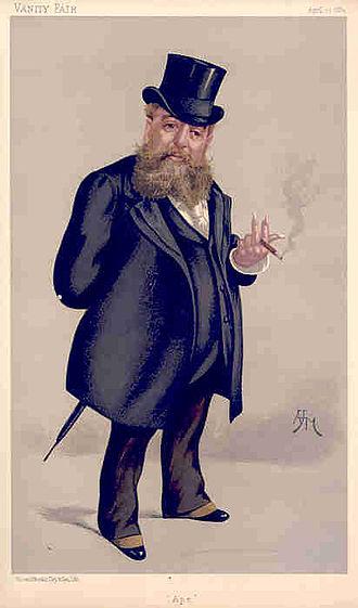 Carlo Pellegrini (caricaturist) - Carlo Pellegrini, Vanity Fair magazine's 'Ape' by Arthur H. Marks