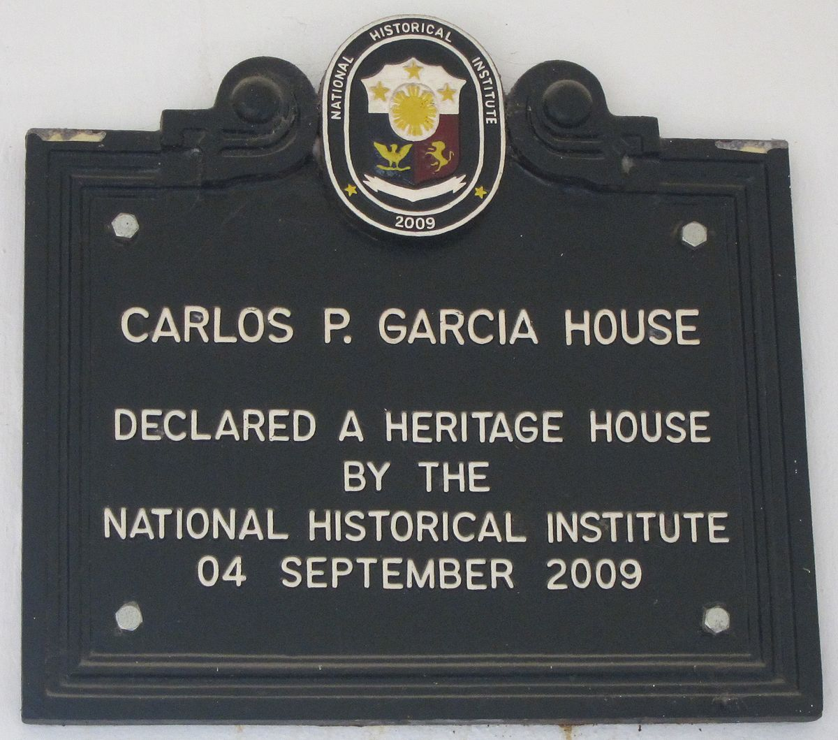 carlos p garcia President carlos p garcia, formerly called pitogo, is an island-municipality in the  north-east of bohol.