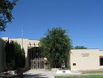 Carlsbad, New Mexico - Image: Carlsbad New Mexico Public Library